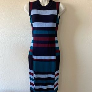 Vince Camino Color Block Sweater Dress